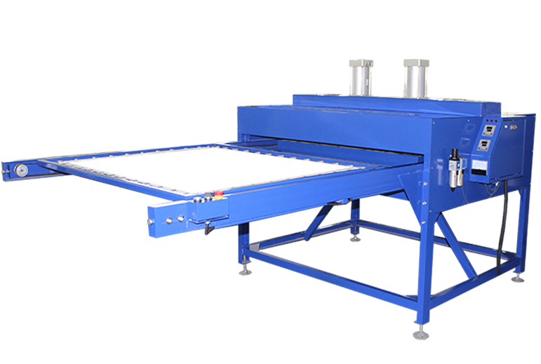 Pneumatic Double Heat Press Machine