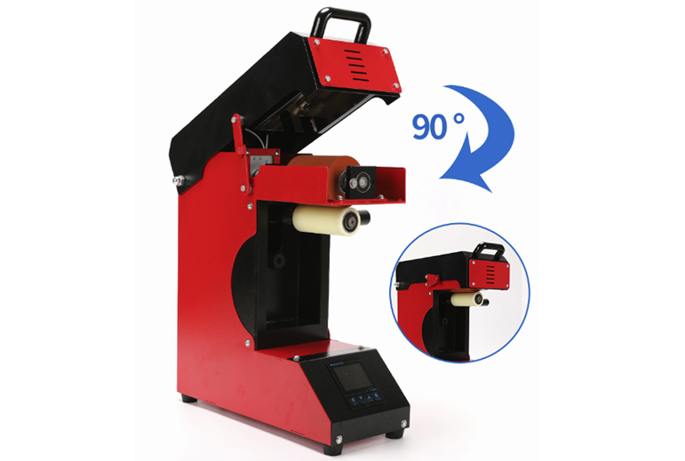 360 Roller Laser Heat Press Transfer Machine