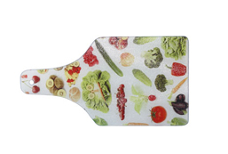 Glass Cutting Board (Bottle Shape)