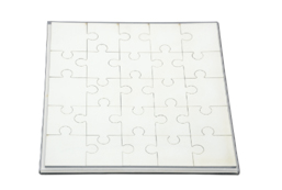 Square Shape Jigsaw Puzzle