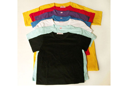 Combed Cotton Raglan T-Shirt with Whole Colorful