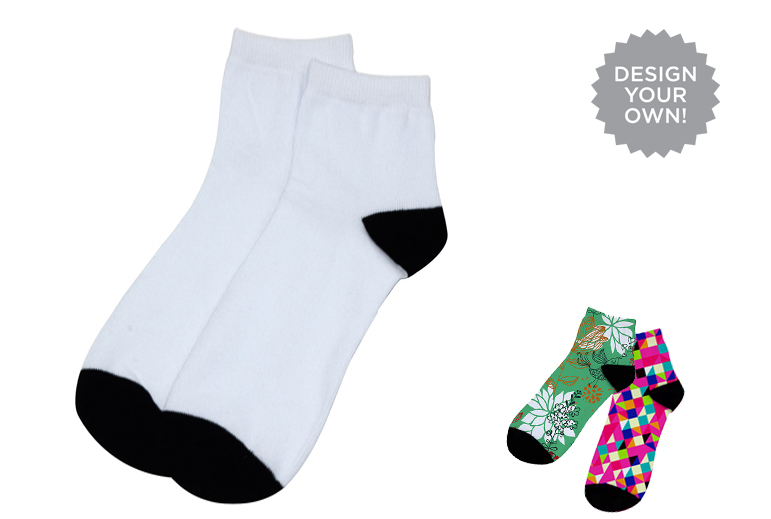 Sublimation Blank Socks for Men & Women