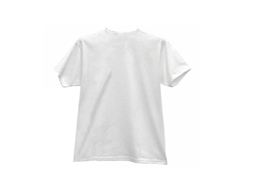 White Short-sleeve T-shirt(fiber)