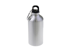 400ml/500ml/600ml Silver Aluminium Water Bottle